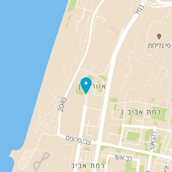 מפה של גרינברג ביסטרו