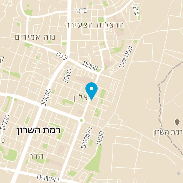 מפה של מינימרקט אלימלך אשר