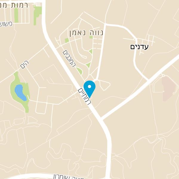 מפה של שגב קיטשן גארדן