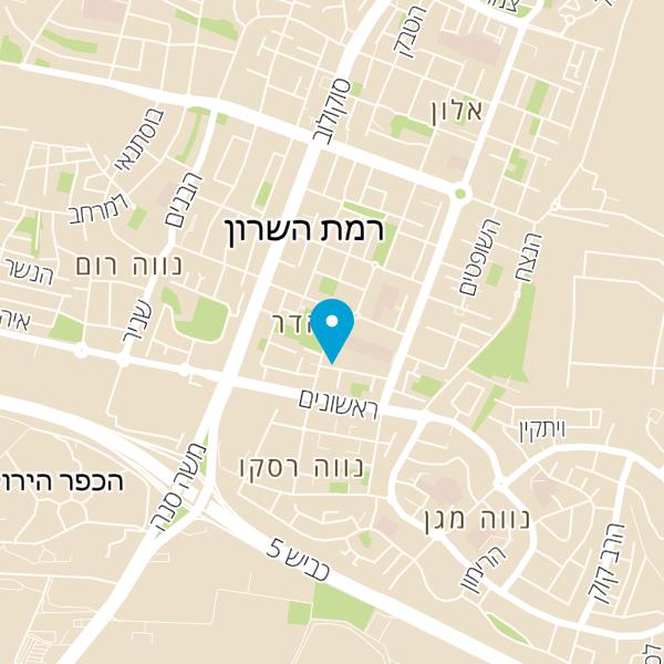 מפה של בית אשכול פיס