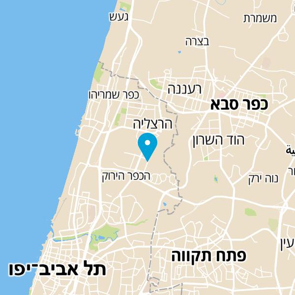 מפה של ביתא קפה