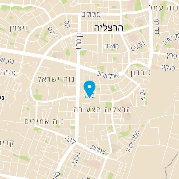 מפה של מתחם ימי הולדת חד קרן