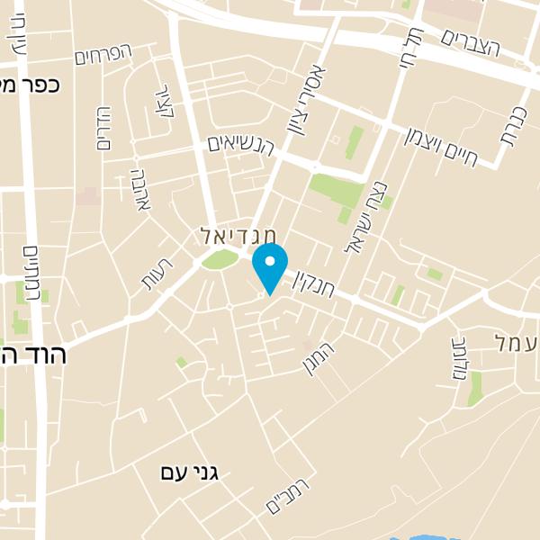 מפה של בית מרקחת כללית