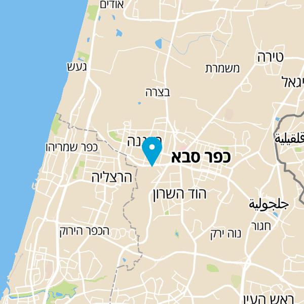 מפה של מרכז גירון