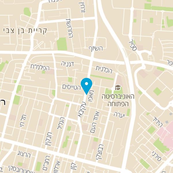מפה של קפה גאולה