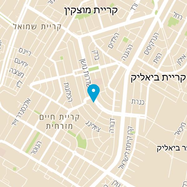 מפה של אליעזר בוסקילה