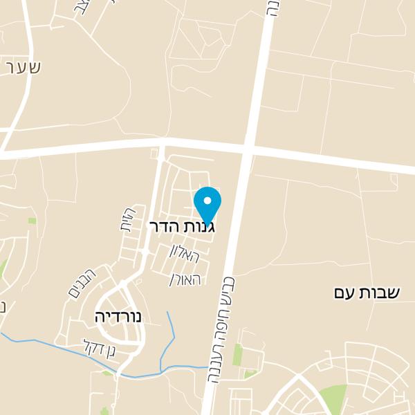 מפה של מנעולן זמין אילן