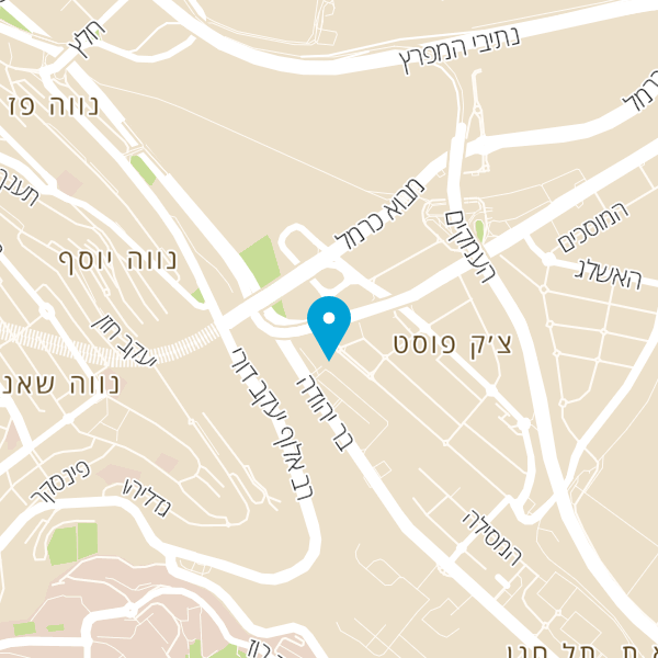 מפה של קפה דנדי