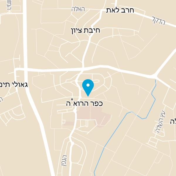 מפה של אגדת לחם