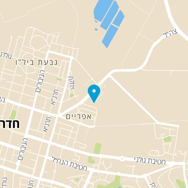 מפה של מסעדת ולנטין