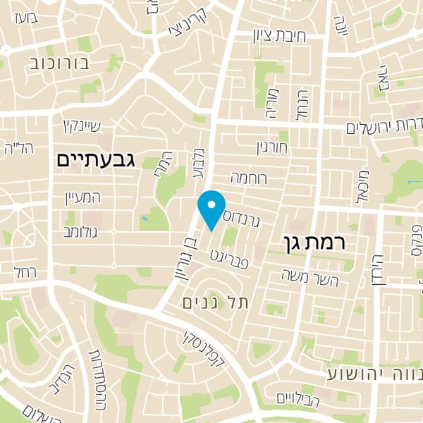 מפה של ליברמן טלי