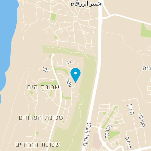 מפה של וילה בר