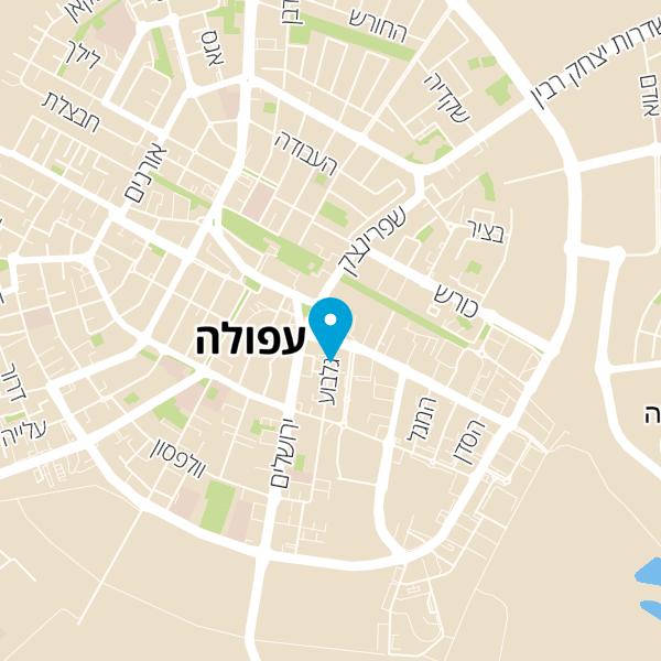 מפה של תחנה מרכזית