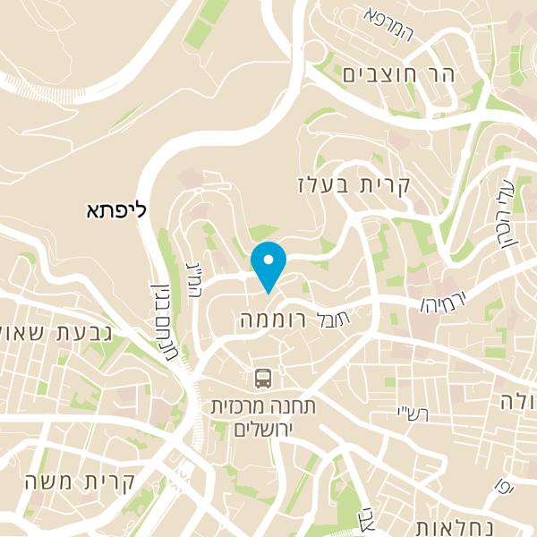 מפה של יעקב לוינסון תזונאי