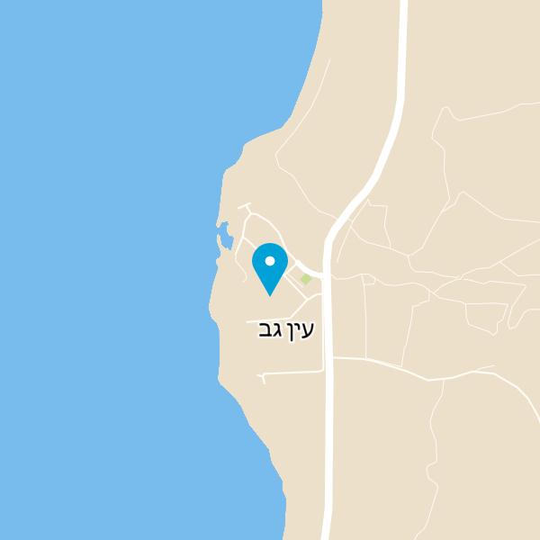מפה של מסעדת הדגים