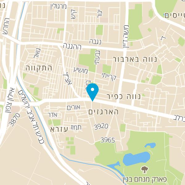 מפה של אבי שירות תיקונים