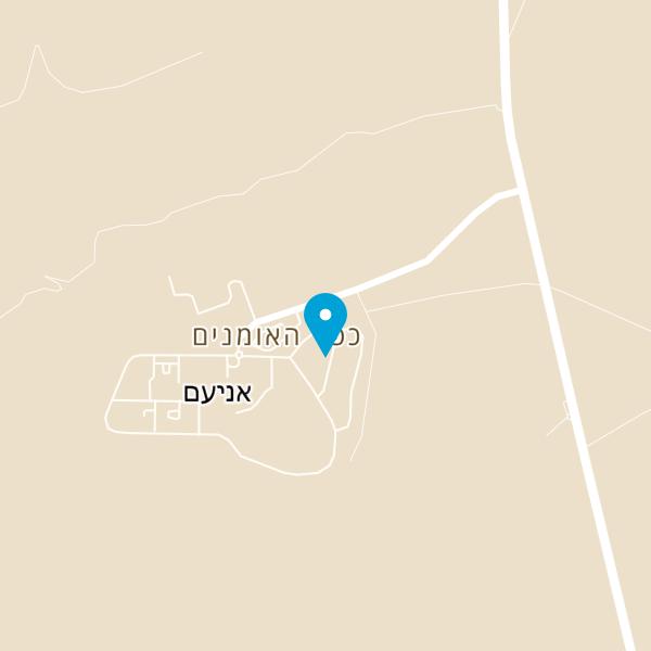 מפה של חומוס בחצר