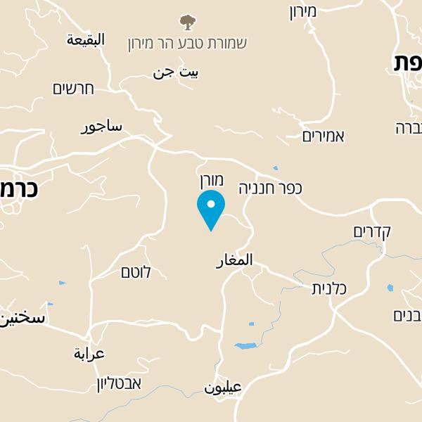 מפה של וילה ויז'ן