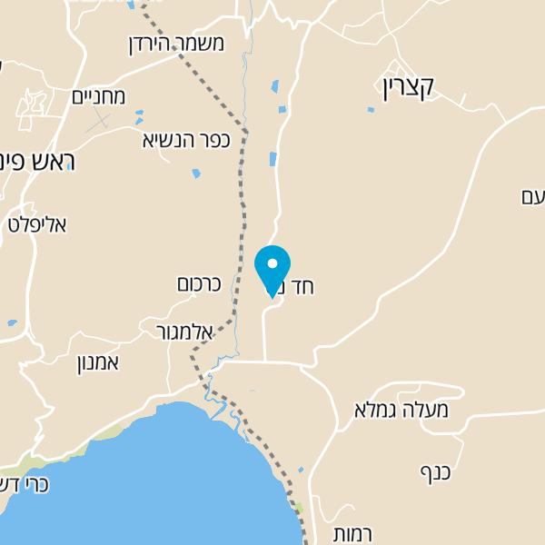 מפה של טרקטורוני חד נס
