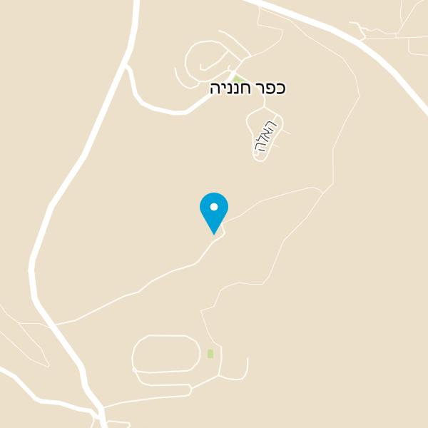 מפה של ענבר אירוח כפרי