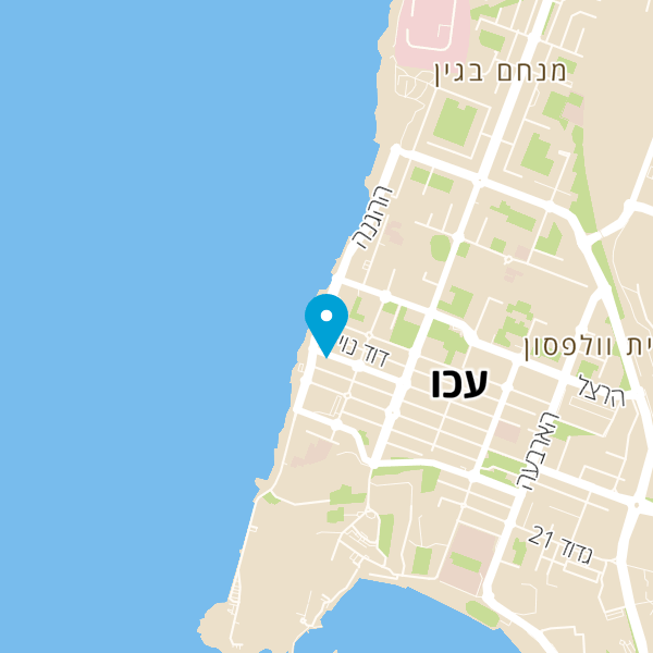 מפה של הלחם והדגים