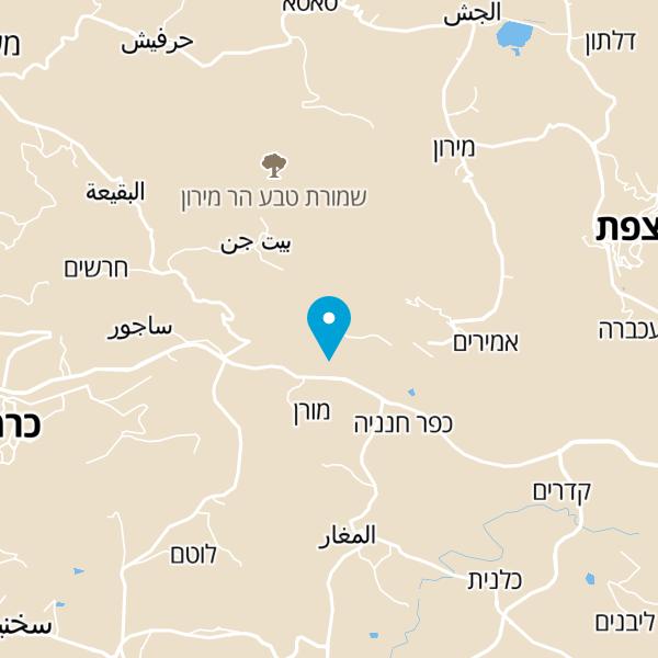 מפה של וילה הרמוניה בכפר