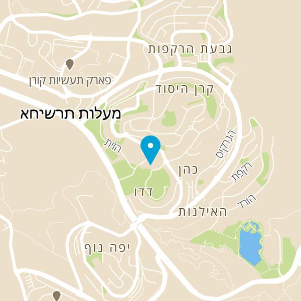 מפה של בלה מיה בשרים בהגזמה
