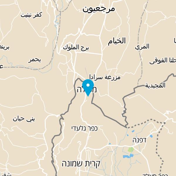 מפה של מלון ארזים