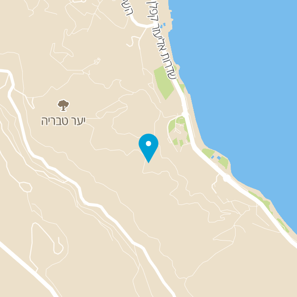 מפה של חמת טבריה