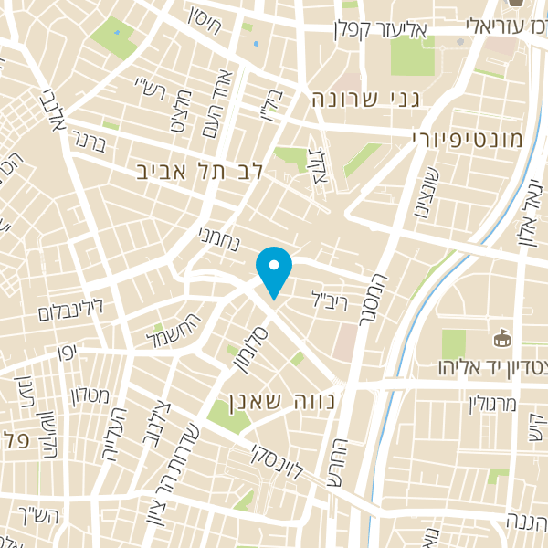 מפה של NYX BURGER