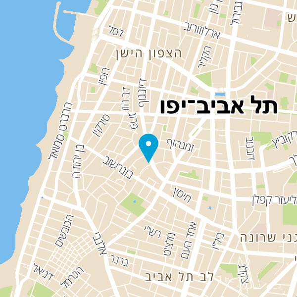 מפה של מלון קוקו