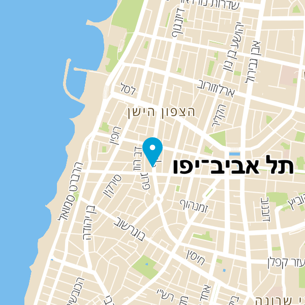 מפה של The Little Brgr Shop