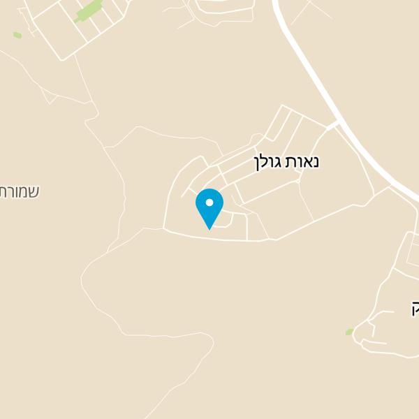 מפה של דירה Kineret View