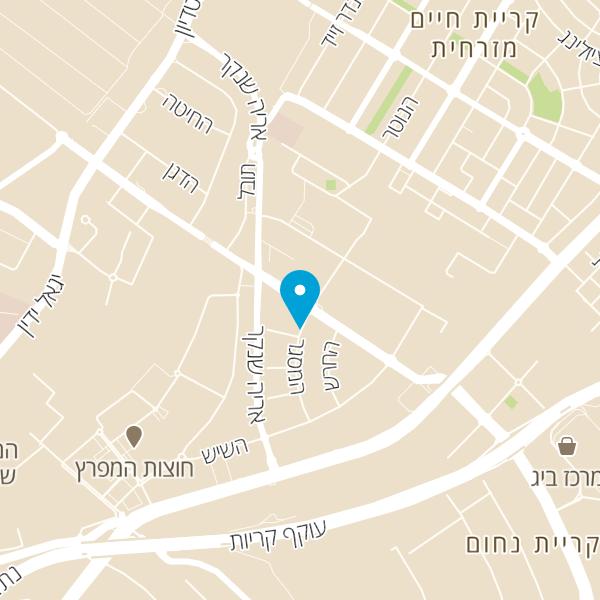 מפה של מעדני רוסמן