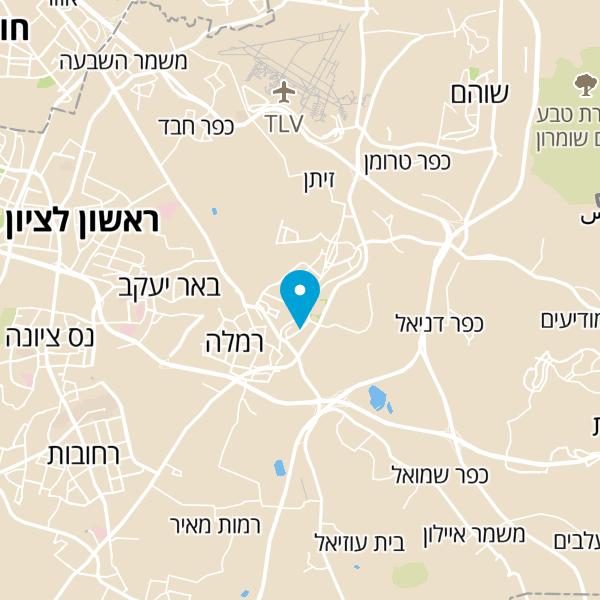 מפה של הנחתום