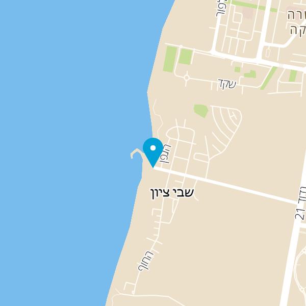 מפה של סירות ספארי שבי ציון