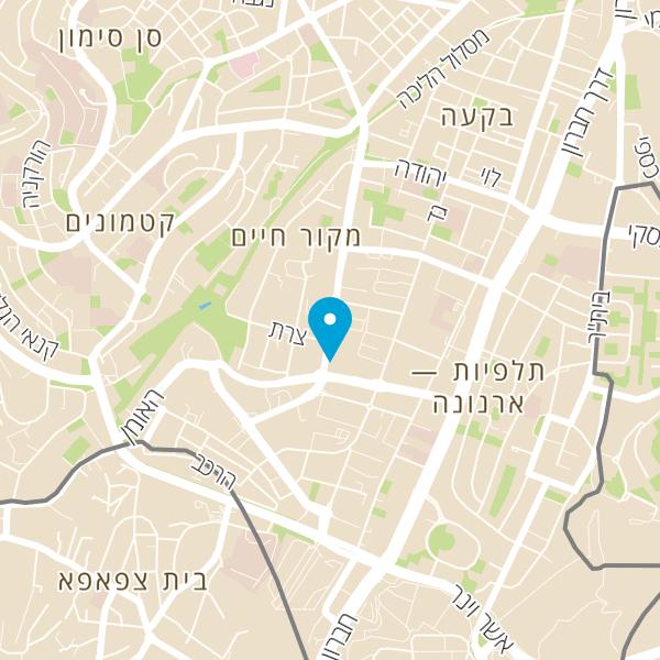 מפה של Jerusalem Puzzle Quest