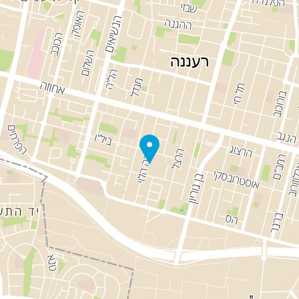 מפה של זינגר יעל