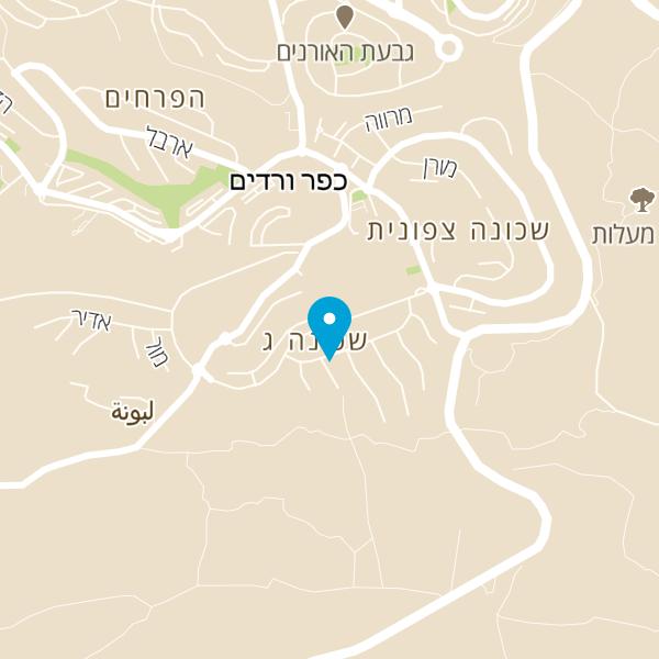 מפה של הגלריה של רחל