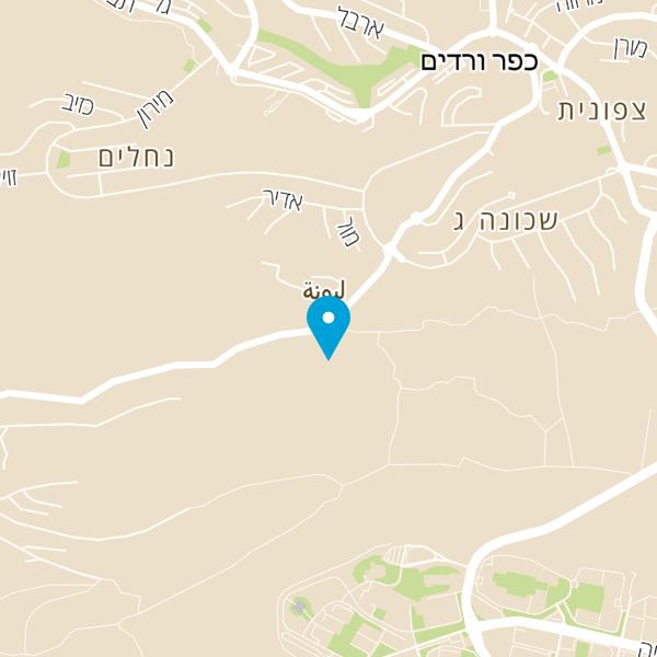 מפה של מסעדת אלמנסף