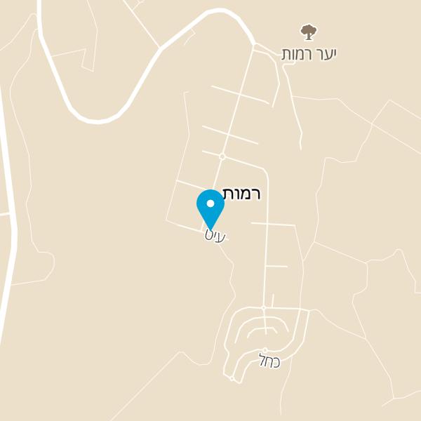 מפה של הבקתה ברמות