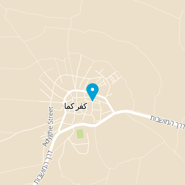 מפה של כנאפה חסוס
