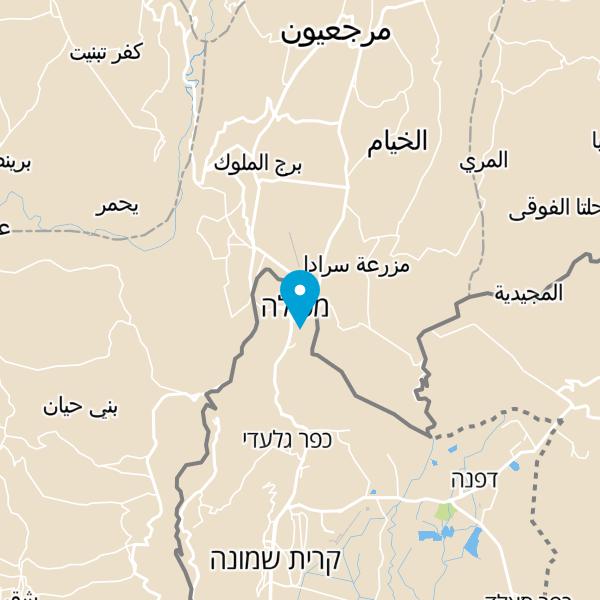 מפה של מלון מטיילים