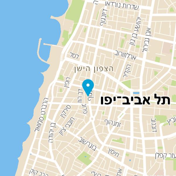 מפה של דיזנגוף סוויטס
