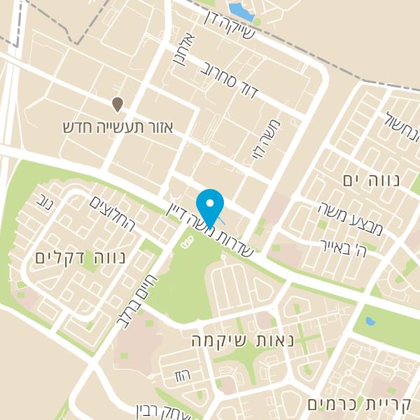 מפה של שגב קראנצ' בורגר