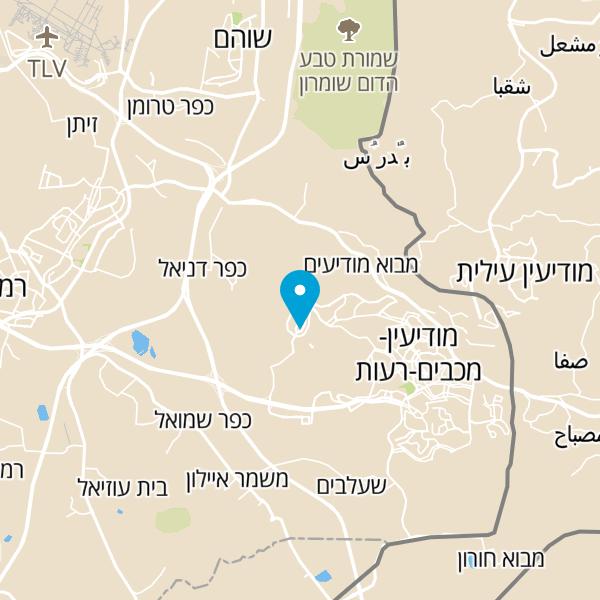 מפה של מורדן בר