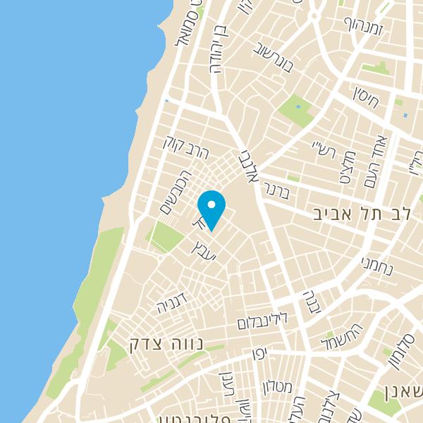 מפה של המרוקאית בכרמל