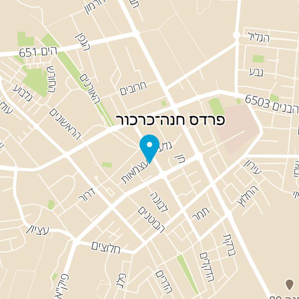 מפה של בית תבורי