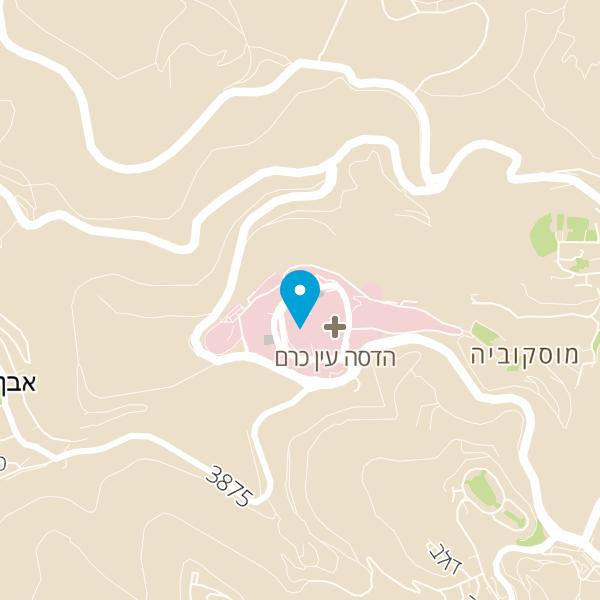 מפה של קפה הלל