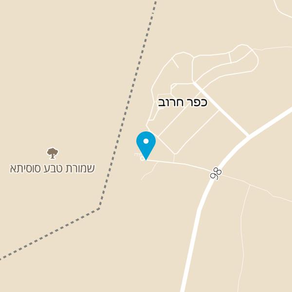 מפה של מצפה השלום